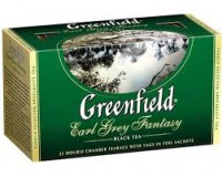 Чай черный Earl Grey Fantasy Greenfield 25пак