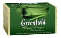 Чай зеленый FlyingDragon Greenfield 25п