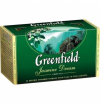 Чай зеленый Jasmine Dream Greenfield 25пак