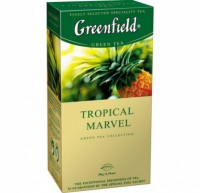 Чай зеленый Tropical Marvel Greenfield 25 пак