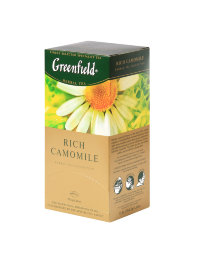 Чай травяной Rich Camomile Greenfield 25 пак